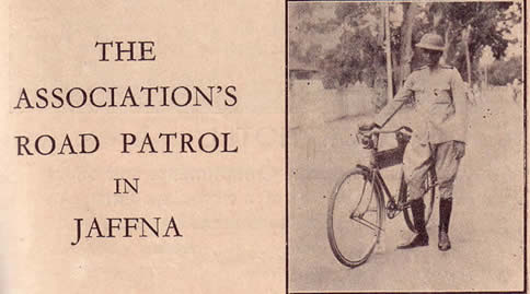 Automobile Association's Jaffna Road Patrol circa 1935
