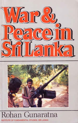 Rohan Gunaratne first book 1987 cover